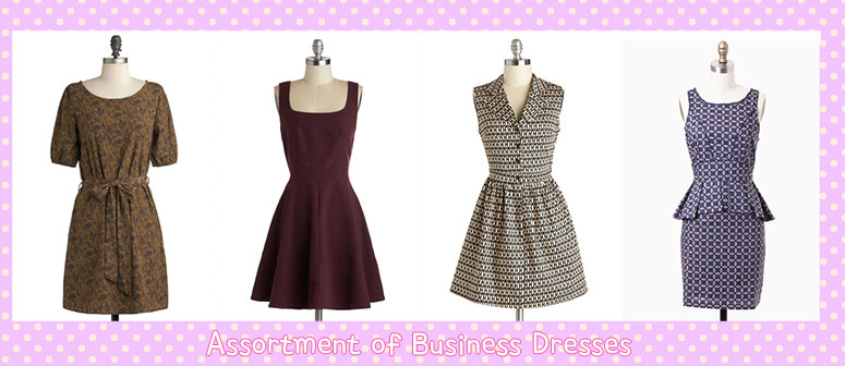 assortment-business-dresses