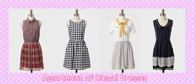 assortment-casual-dresses